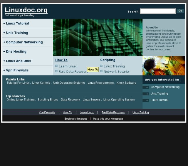 linuxdoc.org hijacked