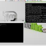 image of linux desktop