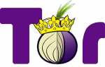 image of tor onion wearing crown