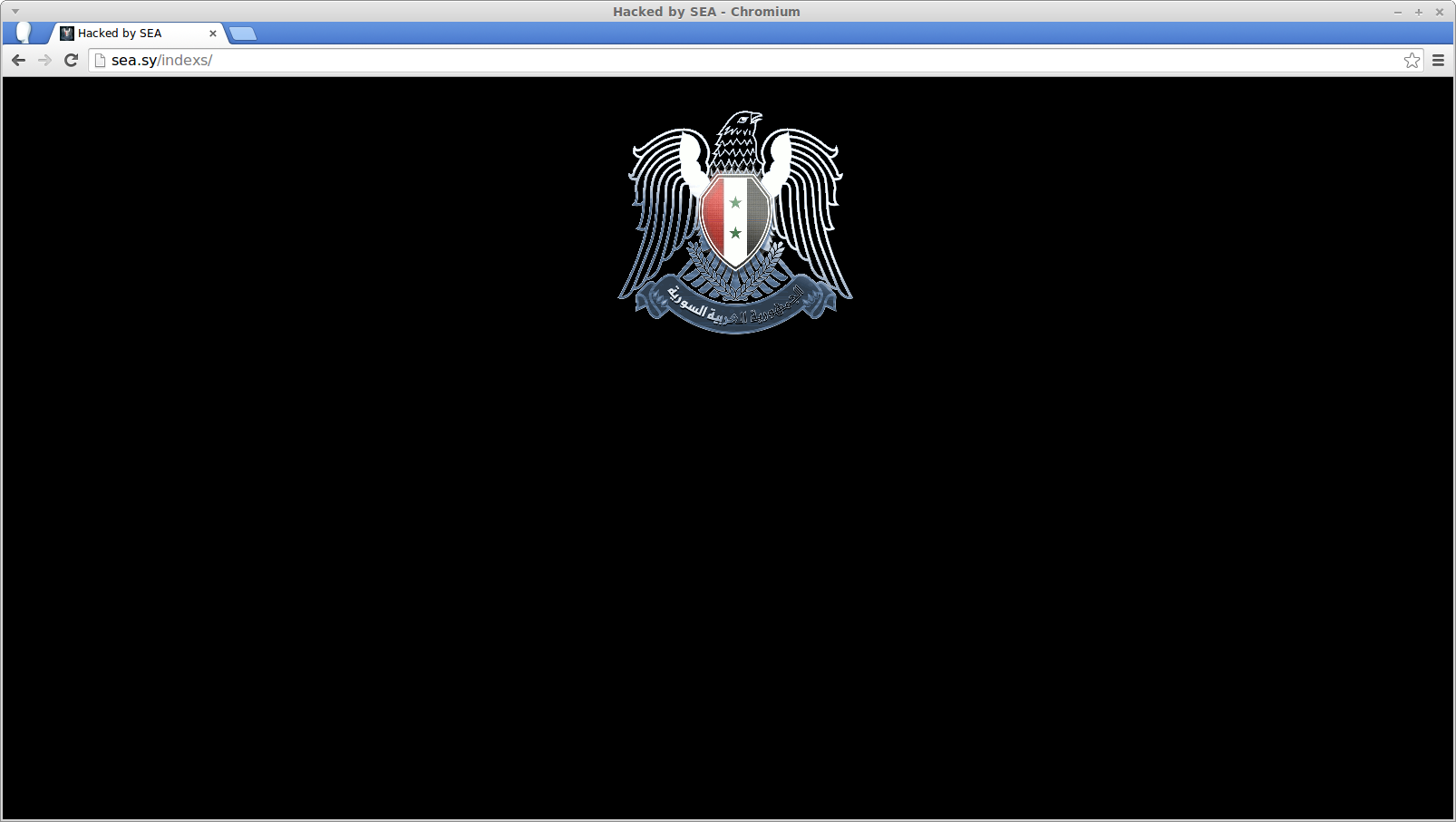 Screenshot-Hacked by SEA - Chromium