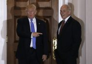 Donal Trump with John Kelly